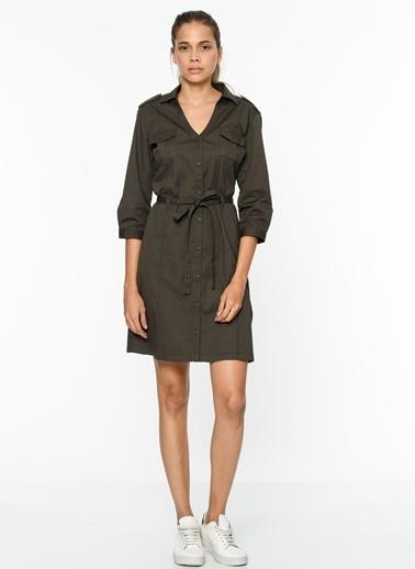 V Yaka Gömlek Elbise-Lee Cooper